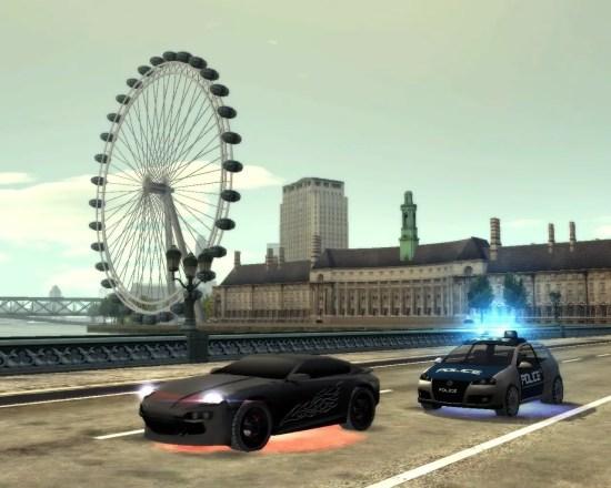 Big City Racer - Screenshot