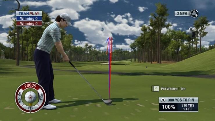 Tiger Woods PGA Tour 2011 - Online-Team-Play