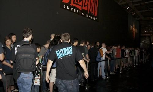 Blizzard-Stand auf der Gamescom 2009, Foto: Frederic Schneider