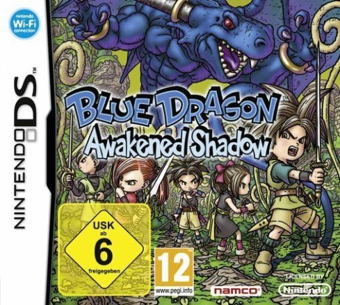 Blue Dragon: Awakened Shadow - Cover NDS
