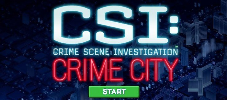 CSI: Crime City - Splash-Screen