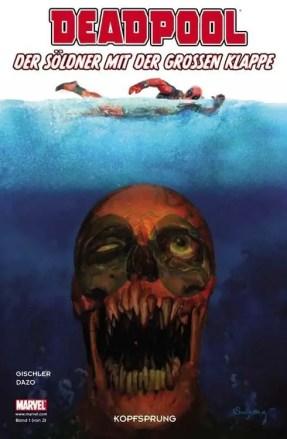 Deadpool: Der Söldner mit der großen Klappe - Cover