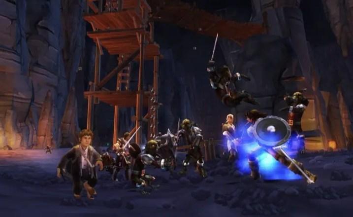Der Herr der Ringe: Die Abenteuer von Aragorn - Screenshot