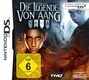 Die Legende von Aang - Cover NDS
