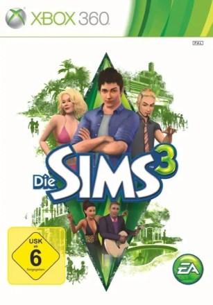 Die Sims 3 - Cover Xbox 360