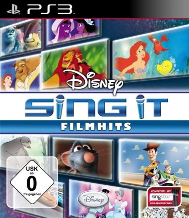 Disney Sing It: Filmhits - Cover PS3