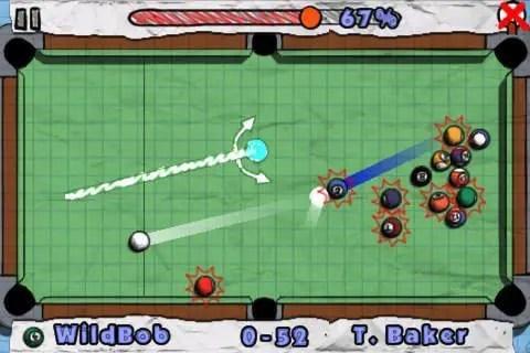 Doodle Pool - Screenshot