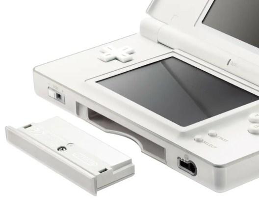 Nintendo DS lite in Weiß