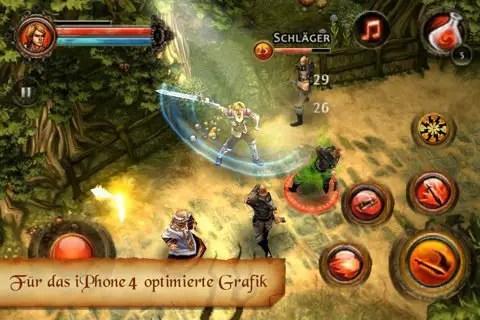 Dungeon Hunter 2 - Screenshot
