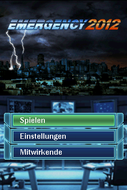 Emergency 2012 - Screenshot