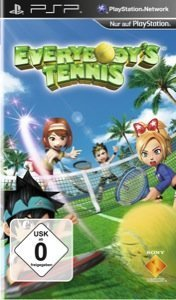 Everybody's Tennis - Cover PSP