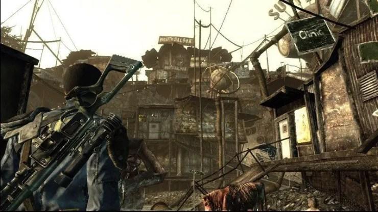Unser erster Aufenthalt außerhalb der Vault in Fallout 3