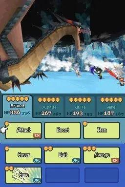 Final Fantasy: The 4 Heroes of Light - Screenshot