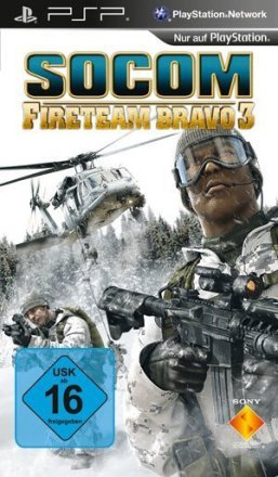 SOCOM: U.S. Navy Seals Fireteam Bravo - Packshot PSP