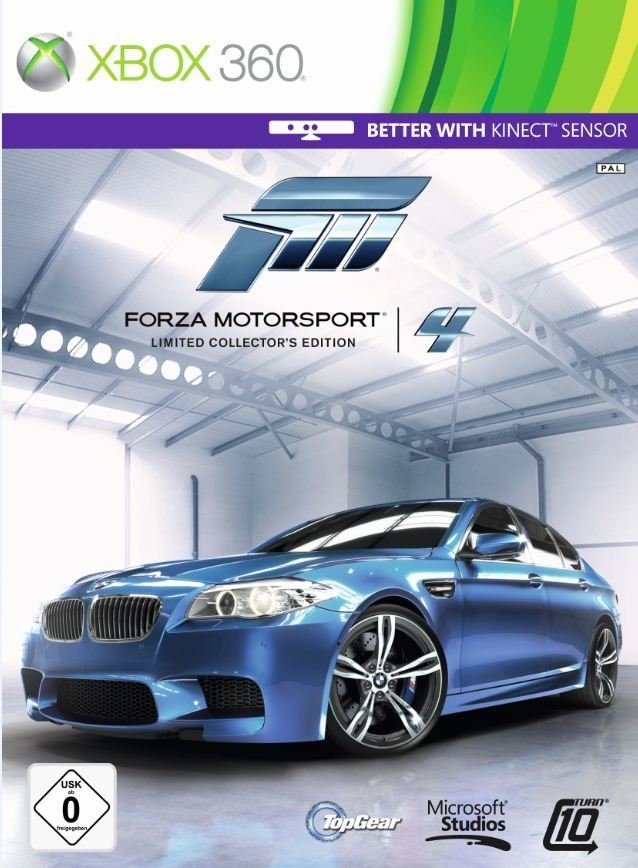 Forza Motorsport 4 - Packshot Xbox 360 Limited Collector's Edition