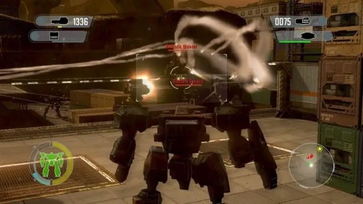 Front Mission Evolved - Screenshot