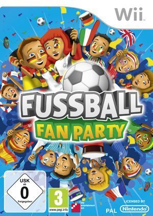 Fussball Fan Party - Cover Wii