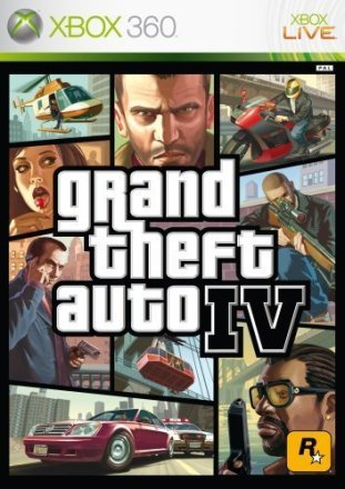 Grand Theft Auto IV Packshot Xbox 360