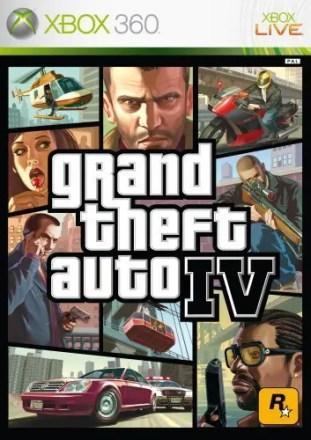 Grand Theft Auto IV Packshot Xbox 360
