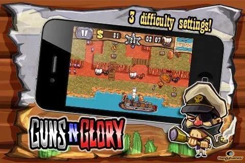 Guns'n'Glory - 3 Schwierigkeitsgrade