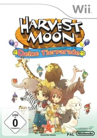Harvest Moon: Deine Tierparade - Cover Wii