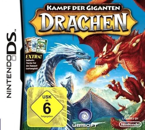Kampf der Giganten: Drachen - Cover NDS