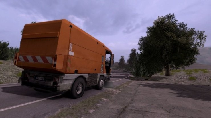Kehrmaschinen-Simulator 2011 - Screenshot