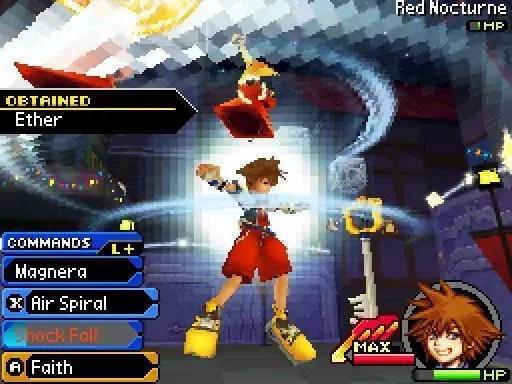 Kingdom Hearts: Re:coded - Screenshot