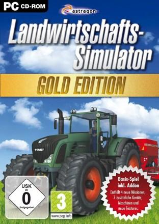 Landwirtschafts-Simulator 2009 Gold-Edition - Packshot