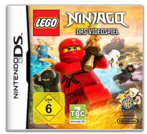 LEGO Ninjago Packshot NDS