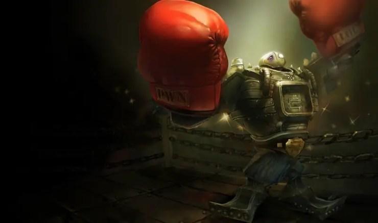 League of Legends: Boom-Boom Blitzcrank