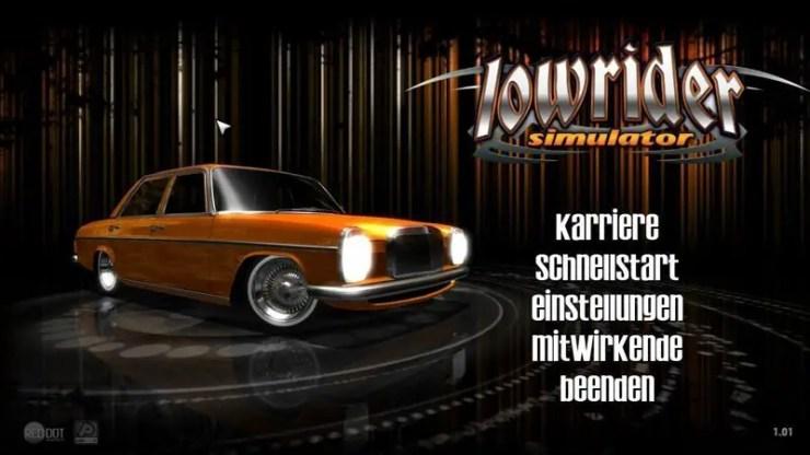 Lowrider-Simulator - Screenshot