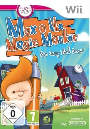 Max & the Magic Marker - Cover Wii