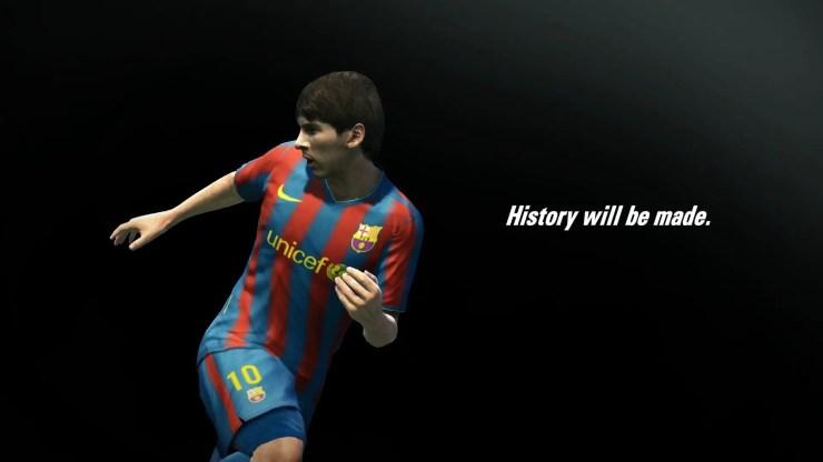 PES 2011 - Messi Teaser-Image