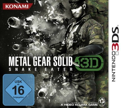 Metal Gear Solid: Snake Eater 3D - Cover 3DS