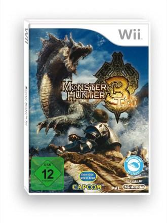 Monster Hunter Tri - Packshot Wii