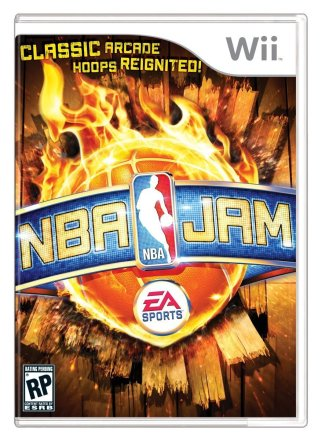 NBA Jam - Cover Wii