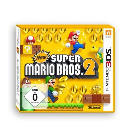 New Super Mario Bros. 2 Cover 3DS