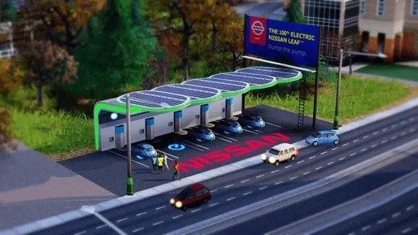 Nissan Leaf - Gratisobjekt in SimCity