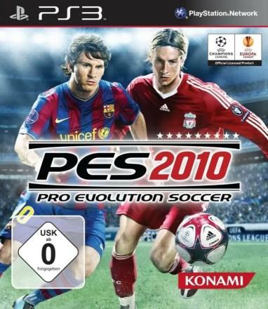 PES 2010 - Packshot PlayStation 3