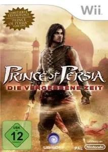 Prince of Persia: Die vergessene Zeit - Wii-Packshot