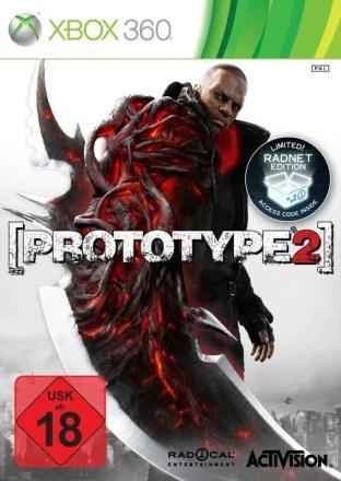 Prototype 2 - Cover Xbox 360