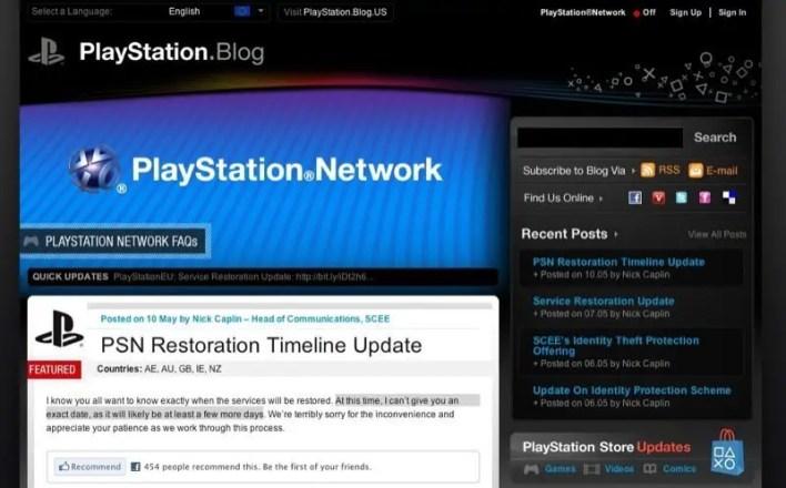 PSN bleibt ein paar weitere Tage offline
