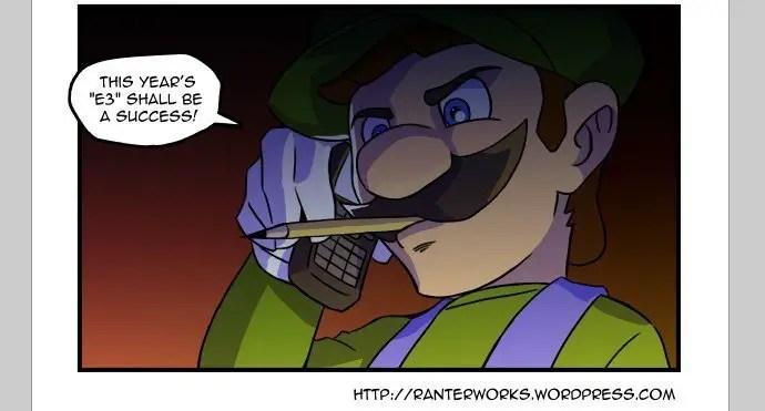 Luigi hat PSN gehackt, Bild: Ranterworks