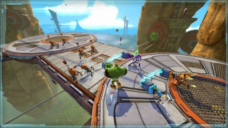 Ratchet & Clank: All 4 One - Screenshot