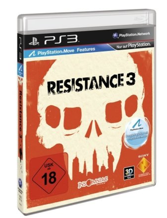 Resistance 3 - PS3 Cover