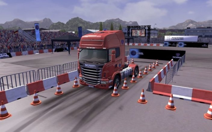 Scania Truck Driving Simulator - Screenshot