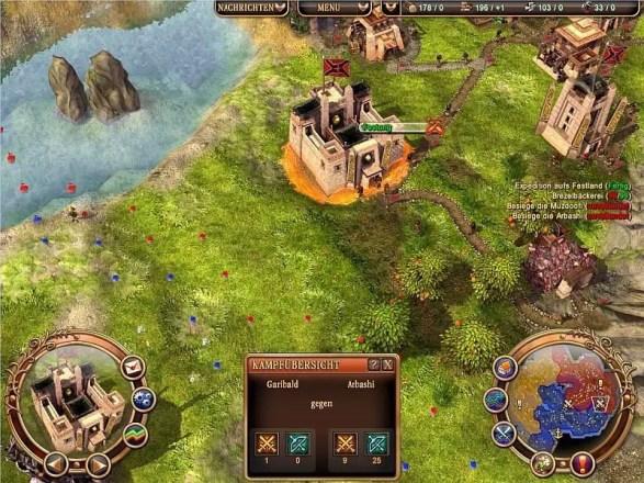 Die Siedler 6: Aufstieg des Königreichs - Screenshot
