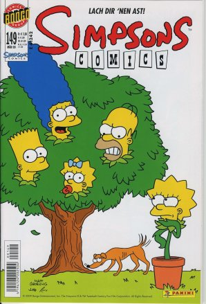 Simpsons Comics #149 - Lach dir 'nen Ast!