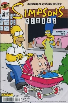 Simpsons Comics #151 - Irgendwas ist nicht ganz koscher